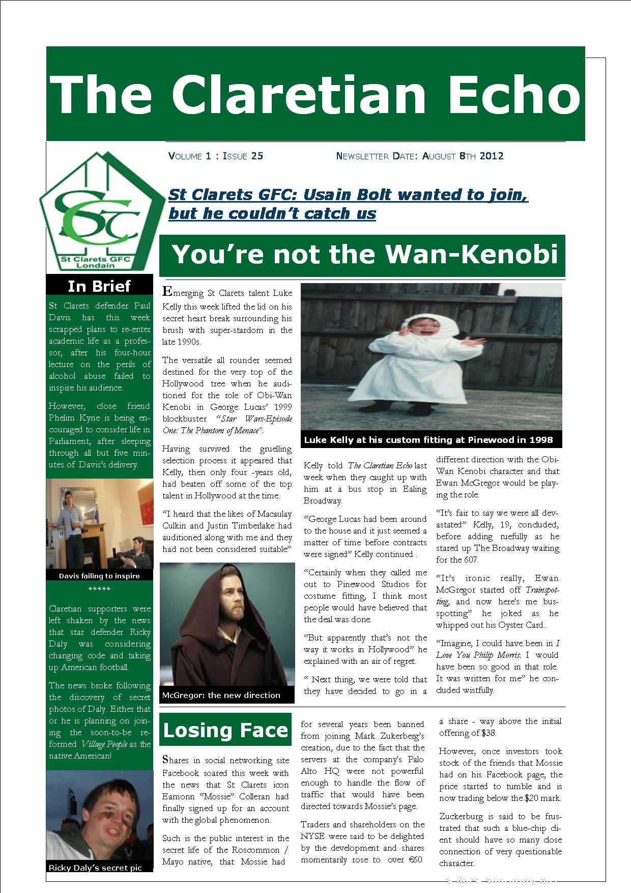 St clarets gfc hayes rugby club kingshill avenue hayes middlesex london claretian echo issue 25 the weekly newsletter from st clarets gfc in london fandeluxe Gallery